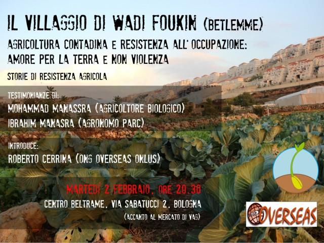 Wadi Foukin – Storie di resistenza agricola