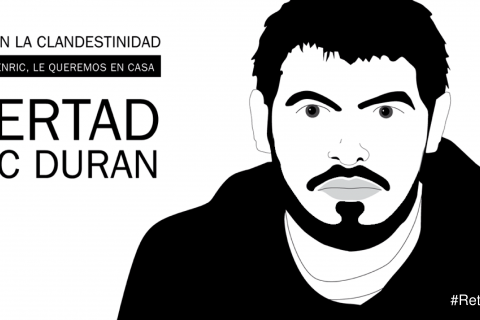 Videointervista a Enric Duran in clandestinità
