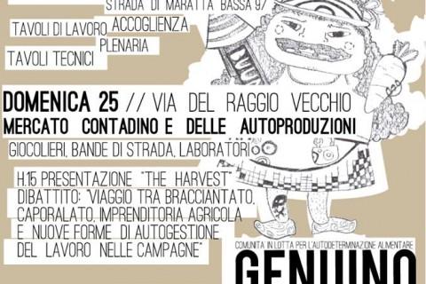 Genuino Clandestino a Terni  23 -24 – 25 Settembre 2016