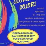 Giovedì a colori! Nuovo mercato in piazza dei colori