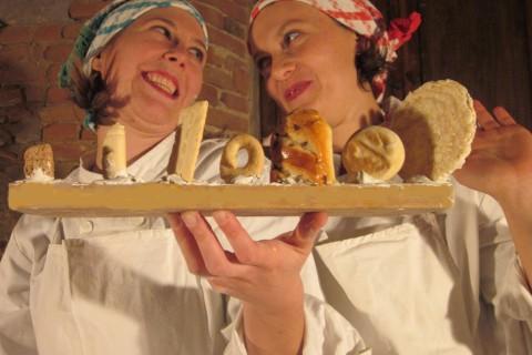 Venerdì 20 ottobre al mercato di Savena: Storie da Mangiare con Le Strologhe
