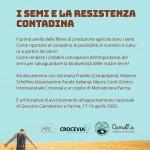 I semi e la resistenza contadina Sabato 15 Febbraio centro sociale della pace, Pratello ore 18:00