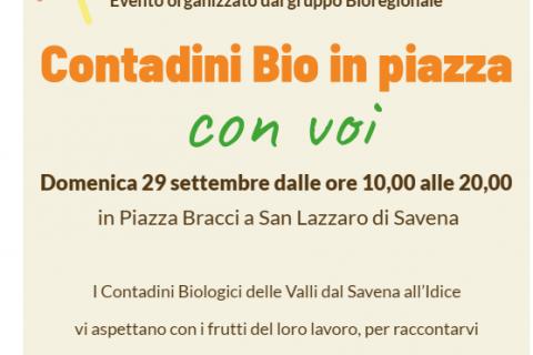 Seconda edizione di Contadini Bio in Piazza