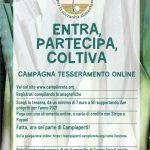 Campagna tesseramento 2021 on-line