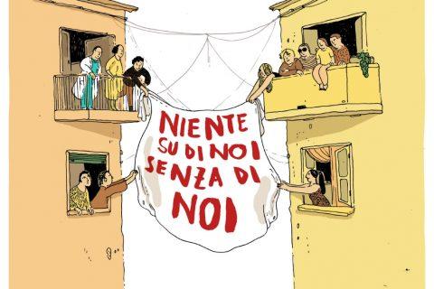 Serata di autofinanziamento per Centro Salute Internazionale NIENTE SU DI NOI SENZA DI NOI!