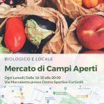Si è trasferito mercato di Via Tolmino in Via Marzabotto presso Centro Sportivo Corticelli